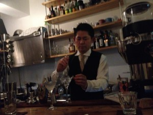 Cafe&BAR Chickの初代店長の日下部さん