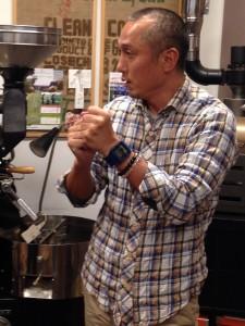 フレッシュネスコーヒー代表の三浦先生