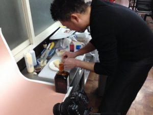 カフェデザートの試作