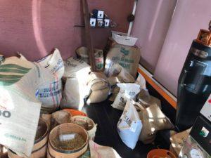 色々なコーヒー豆